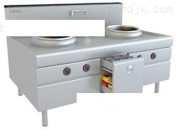 雙炒單溫電磁灶爐