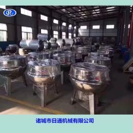 400L辽宁电加热蒸煮锅 正反转夹层锅 自动翻锅