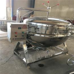 300L食堂炖肉卤煮锅 可倾式豆浆蒸煮锅