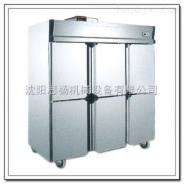 GD0.5L2旭众大型商用厨房冷藏柜四门厨房冷藏柜 立式冷冻柜