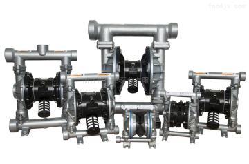 13165865915淄博化工廢水不銹鋼氣動隔膜泵 耐腐蝕泵
