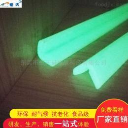YT-030東莞硅膠夜光防撞條 門窗汽車密封條廠家