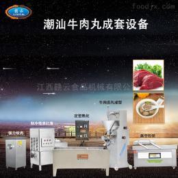 GY-CSRW-001贛云實心丸子成套設備潮汕牛肉丸生產線