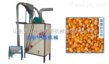 ZX-Q1玉米脱皮制糁机 新型玉米脱皮制糁→磨粉一体机 小麦Ψ 磨面机