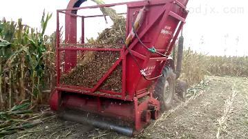 SL130青儲收集機 玉米秸稈收割粉碎回收機