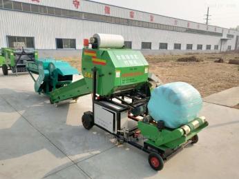 9YQ5552牧草青貯打捆包膜機 玉米秸稈青儲打包機
