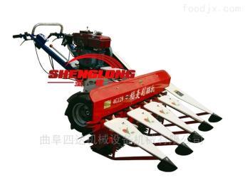 SL150自帶動力艾草收割機 割曬機