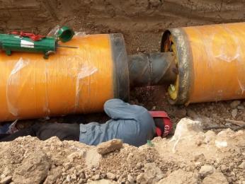 57-1020mm杭州聚氨酯热水保温管厂家现货供应