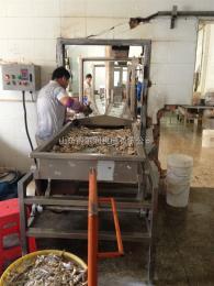 得爾潤DZ蠶豆油炸生產線 全自動連續油炸機