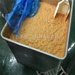 雞米花掛漿機 雞肉塊裹漿機 上漿掛糊設備