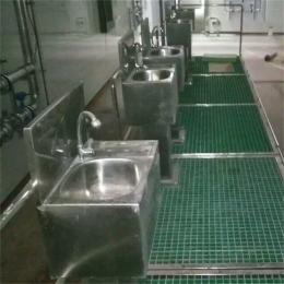 bh-1500不锈钢脚踏式 洗手消毒槽生产厂家