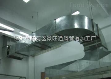 標準消防排煙白鐵不銹鋼通風管道排煙罩子加工廠