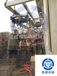 HT昊腾机械十年专业生产中型宰鸡流水线