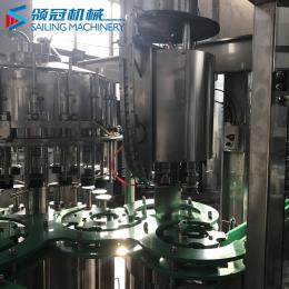 DCGF18-18-6厂家供应玻璃瓶三旋盖灌装机小瓶灌装机液体食品包装机果汁包装机