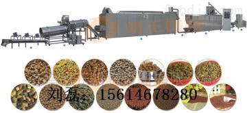 LZ65-III高端宠物食品生产线,狗粮膨化机设备