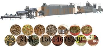 LZ65-III高端寵物食品生產線,狗糧膨化機設備