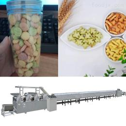 lz2252018新品粗粮饼干机设备 小型饼干生产线