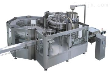 JR80-80-18 36000B/H冲瓶灌装旋盖三合一机组