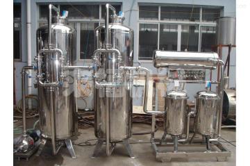 10吨/小时简易水处理设备