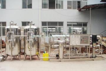 10吨/小时纯净水设备