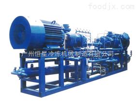 雙級壓縮冷凝機組