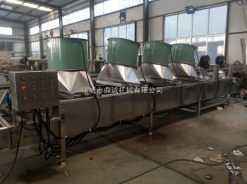 卤煮油炸设备摊晾冷却线生产厂家