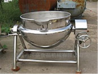 ks-300月饼馅料炒锅 燃气可倾斜式下搅拌夹层锅