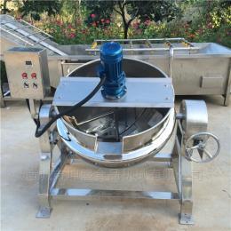 KS-400猪蹄蒸汽式可倾斜夹层卤煮锅 菏泽卤煮设备