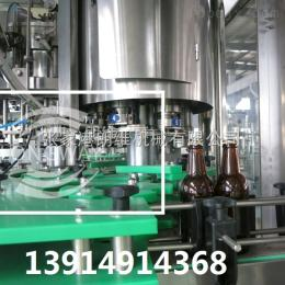 BDGF玻璃瓶含气饮料拉环盖皇冠盖啤酒灌装设备