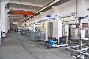 SE-450型硬糖澆注生產線