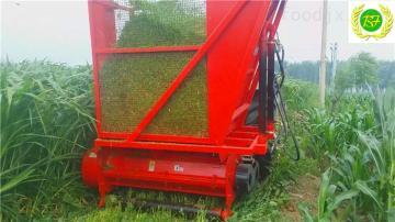 bf1002016新上保豐玉米秸稈回收機、玉米秸稈收獲機