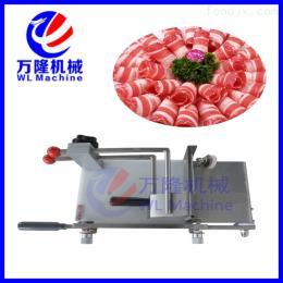 DR-S250冻肉加工机械设备 手动羊肉切片机 刨肉片机