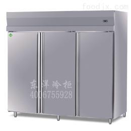 233款供应三门饼盘柜/不锈钢立式厨房冷柜