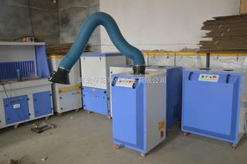 齐全德州钢筋丝网焊接烟尘净化器移动式滤筒除尘器