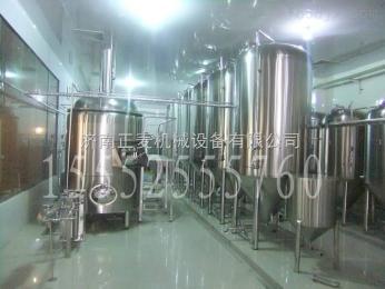 ZM-2000L商用自酿啤酒设备 小型精酿啤酒设备 家用啤酒机 发酵罐