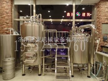 ZM-600L啤酒设备 小型精酿啤酒设备