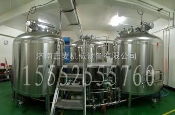 ZM-500L啤酒设备 小型自酿啤酒设备