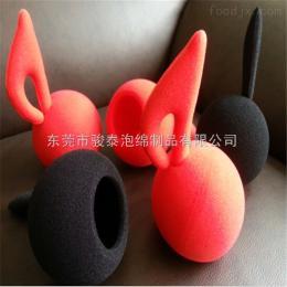 广东海绵小丑鼻子彩色海绵球厂家