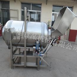 GT-600全自動滾筒拌料機  自動上料出料設備  中旭廠家直銷