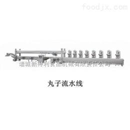 XRL-6鱼丸流水线 专业丸子成型蒸煮线 高效肉丸成型线