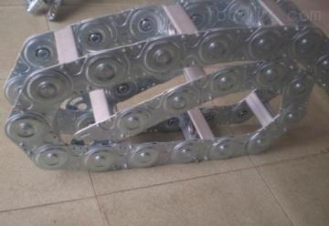机床打孔式钢铝拖链