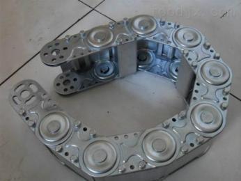 定做半封闭式钢铝拖链