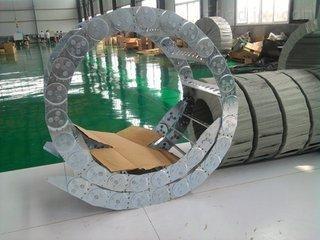 高速运转电缆钢铝拖链