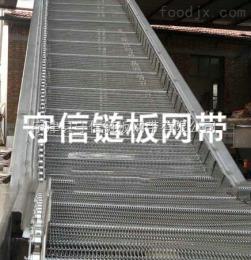 LB-7454廠家供應不銹鋼鏈板輸送機
