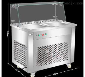 CB-25格林斯双锅单控炒冰酸奶 商用炒冰机 冰淇淋炒冰机