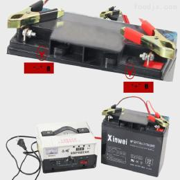 A-03炒货机专用配套电瓶充电器一套12V/17A移动便携式电瓶充电器
