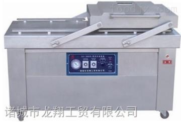 hn--s600糯米咸鸭蛋高效率真空包装设备  滚动式双封条真空包装机