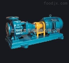 江苏液泉泵阀IS单级单吸离心泵安装尺寸说明