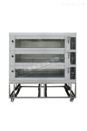 JMBH312山东商用烘焙设备三层电烤箱青岛生产设备蛋糕饼房面包房专用JMBH312