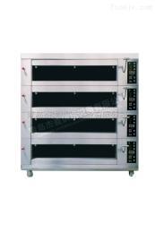 JMBH416山东商用烘焙设备三层电烤箱青岛生产设备蛋糕饼房面包房用JMBH416